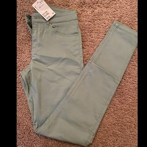 Blue green H&M jeans